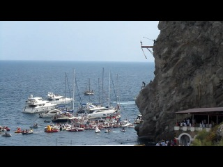 RED BULL CLIFF DIVING Yalta 2011 ����� ���������